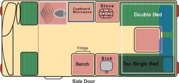 Bild zu Wendekreisen - 2 Bett DU/WC Koru XL, Bild Nr. 330