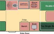 Vorschaubild zu Wendekreisen - 2 Bett DU/WC Koru XL, Bild Nr. 330