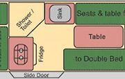 Vorschaubild zu Wendekreisen - 2 Bett DU/WC Koru Star, Bild Nr. 324